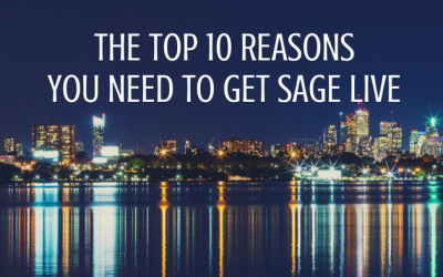 The Top Ten Reasons You Need to Get Sage Live