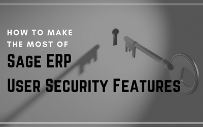How to Make the Most of Sage ERP User Security Features
